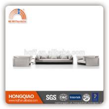 Sofá baixo do couro genuíno do preço profissional ajustado com certificado do CE