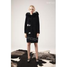 Women Long Reversible Australian Merino Shearling