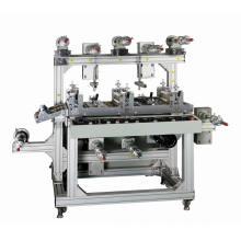 Fita adesiva Multilayer do rebobinamento máquina de estratificação do rolo