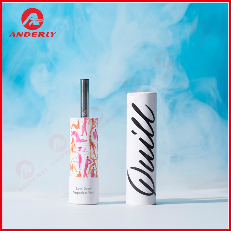Custom E-liquid Packaging Round Paper Box