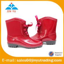 2015 botas de lluvia de PVC para señoras