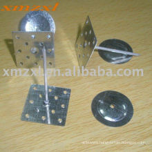 Self-adhesive pins