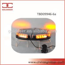 24W грузовик автомобиля Янтарный предупреждение свет мини свет бар (TBD09946-6А)