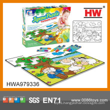 Hot Selling Jigsaw Puzzle Games Kids Educational Product Toy