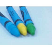 12PCS atacado papelaria crianças Multicolor promoção cera Crayon
