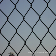 PVC Coated Chain Link Metal Fence