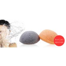 Laisser votre peau extrêmement propre et rafraîchie Éponge Konjac en forme de coeur naturel, éponge Konjac, éponges faciales Konjac