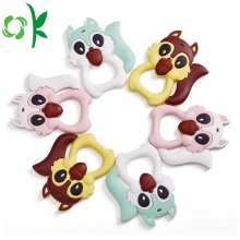 Silicone Baby Teether Soft Teething Toy