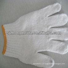 gant tricoté fonctionnant gant de travail de sécurité gant tricoté de coton de jauge 10