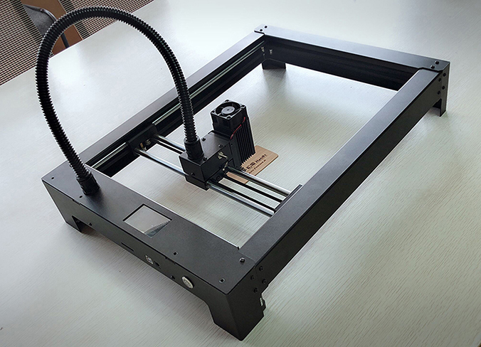 Desktop lasergravure machine