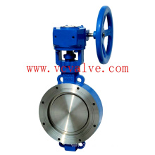 Concentric Wafer Buterfly Valve of Stainless Steel Body