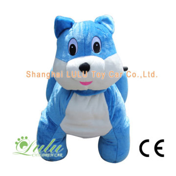 New Product for Zippy Rides Ride Walking Animal blue-cat export to Israel Factory