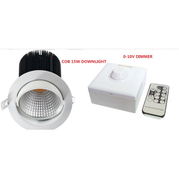 13W LED-COB Reflector Recess Downligh with 120° Rotate Angle, 900lm (Dimmable)