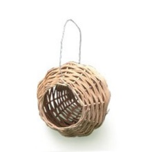 Percell potformad Rattan Bird Nest