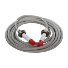 utilisation de rayon x haute tension câble 3 broches 75kvdc- 90kvdc pour xray générateur