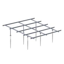 Instalación rápida Estructura de montaje solar con tornillo de tierra