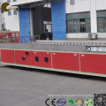 Decking WPC Profile Extrusion Line / PVC Wood Plastic Composite Extruder