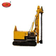 Small Crawler Hydraulic Spiral Screw Pile Driver