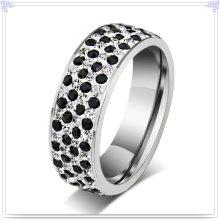 Señora Fashion Anillo de dedo de la joyería del acero inoxidable (SR128)