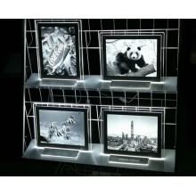 Caja de luz de marco de fotos de luz lenticular 3D