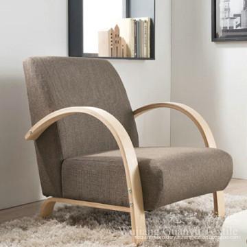 100% tissu de lin de Dimity de polyester pour le sofa de textile à la maison