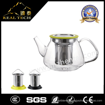 Wholesale Glass Teapot Glass Tea Kettle with Infuser