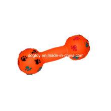 Vinyl Dog Paw Printed Pet Toy