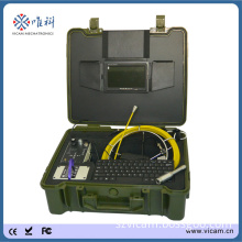 CCTV Camera System 512 Hz Sonde 30m Cable Video Pipe Inspection Camera