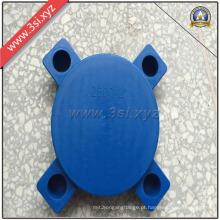 Tampas plásticas da flange das bordas lisas (YZF-H117)