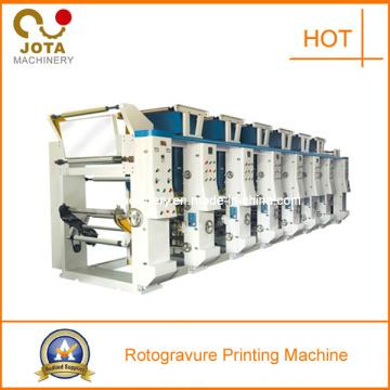 Machine d'imprimante de rotogravure de haute qualité