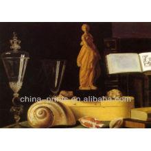 Pintura a óleo abstrata da lona para a sala de visitas