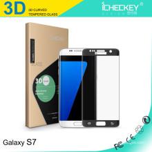 iCheckey 2016 0,2 mm 3D Curved Edge Screen Protector für Samsung Note 7 Blue gehärtetes Glas