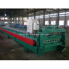 Colored metal corrugated tile roll forming machine