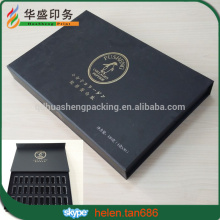 Decorative Luxury custom made cardboard gift box with magnetic lid and inside insert