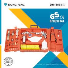 Rongpeng R8031k44 Kit de pistolet à pulvérisation à air 44PCS