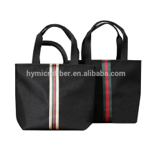Waterproof inside women portable oxford tote bag with zipper