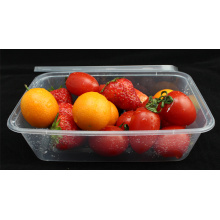 Microwavable Disposable Plastic Takeaway Food Container with Cover