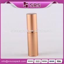 Round Shape Gold Screen Painting Cosmetic Packaging 15ml 30ml 50ml 80ml Wholesale Aluminium Bottles