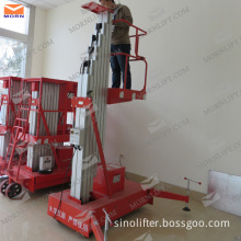 CE Trailing Electric Man Lift for Sale