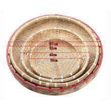 Бамбуковая корзинка высокого качества ручной работы (BC-NB1007)