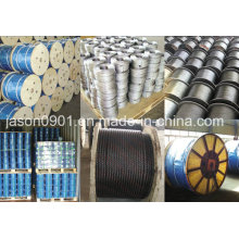 Steel Wire Rope Used in The System of Window Regulator, 8*7+1*19