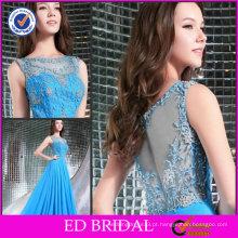 Great New Fashion Style A-line sem mangas bordados Evening Dinner Dresses ED-YH222