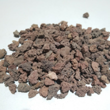Medios de filtro de roca volcánica natural para purificación de aguas residuales urbanas