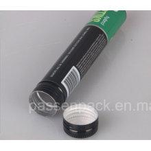 Tubo de embalagem de alumínio com tampa de parafuso (PPC-ACT-024)