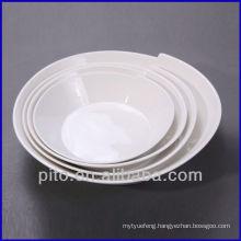 P&T porcelain round salad bowl pasta bowl