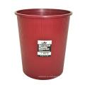 Коричневый пластиковый открытый мусорный ящик для дома (B06-932-2)