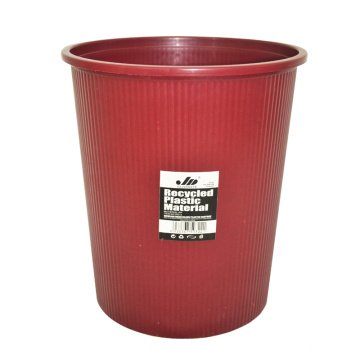 Brown Plastic Open Top Müllbehälter für Haus (B06-932-2)
