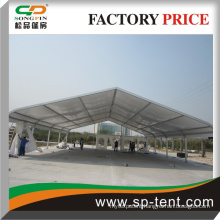 high quality tent used in show or small meeting with glass door