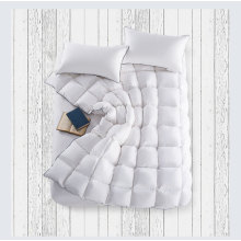 White duck down duvet insert
