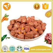 Type de nourriture pour animaux de compagnie de meilleure qualité et application pour chien Crème de bœuf / poulet / thon moelleux Aliments pour chats Aliments pour chats